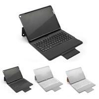 "Flip PU Leather Case Bluetooth Backlight Keyboard Keypad Case for iPad 10.2"""