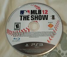 Ps3 MLB 12 The Show Disc Only
