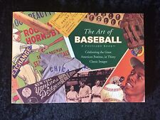 Postcard Book The Art Of Baseball Running Press 1996