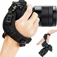 Mirrorless Camera Hand Strap Grip for Sony A6000 A6300 A6400 A6500 A5100 -Red