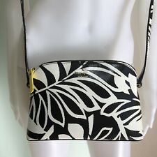 Kate Spade Hawaii Exclusive! Palm Print w/Pineapple Lining Crossbody MANDY Bag