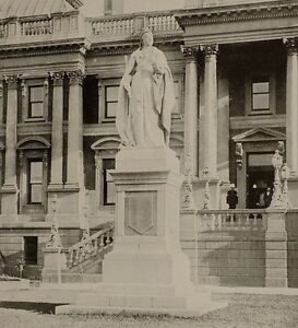 1899 Aufdruck Colonial South Afrika Queen VICTORIA'S Statue Umhang Stadt