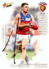 ✺Signed✺ 2019 BRISBANE LIONS AFL Card DAYNE ZORKO
