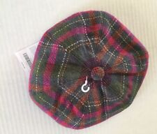 NWT Gymboree Fall Forest 2T-5T Herringbone Plaid Hat