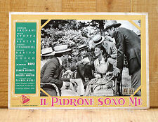 IL PADRONE SONO ME fotobusta poster Paolo Stoppa Miriam Bru Pierre Bertin J27