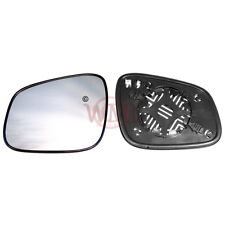 CHEVROLET SPARK 2009->2017 DOOR/WING MIRROR GLASS SILVER,HEATED & BASE,LEFTSIDE