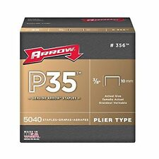 Arrow 356 3/8in. P35 Genuine Staples 5040/Box