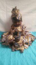 Black Americana Mammy Doll with Baby-Rare-Plastic