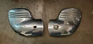 1940 Ford Deluxe Standard Bumper Tips Wings Extension Flathead Hot Rod Rat