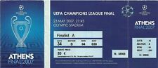 FOOTBALL TICKET LIVERPOOL V A.C. MILAN EUROPEAN CUP FINAL ATHENS 2007
