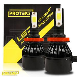 LED Light Kit Protekz Bulb 9005 9006 881 H3 400W for 1995-2004 Chevrolet S10