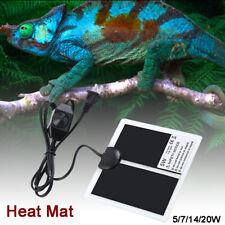 Pet Reptile Heater Under Tank Heating Pad Aquarium Warming Heat Lizard Mat 110V