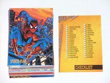 1997 FLEER SPIDER-MAN INTERNATIONAL 50 BASE CARD SET FAR FROM HOME MARVEL STAN!