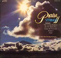 PRAISE STRINGS praise strings ii 77-039  A1/B1 uk 1st press kingsway LP PS EX/EX