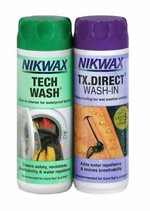 Nikwax TX Direct & Tech Wash Twin Pack