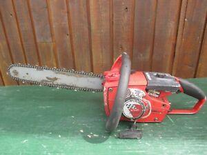 "Vintage HOMELITE SUPER MINI Chainsaw Chain Saw with 16"" Bar"