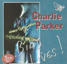 Charlie Parker Bird Lives 3 CD-Set (Hot House, Cheryl, Blue Bird) 1993 Starlite