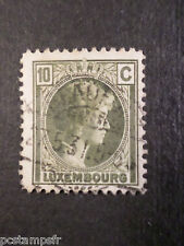 LUXEMBOURG, 1926-28, timbre CLASSIQUE 164, G D CHARLOTTE oblitéré, VF used stamp