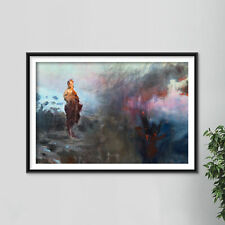 More details for ilya repin - temptation of christ (1898) photo poster painting art print
