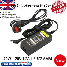 New 20V 2A For Advent Notebook Laptop AC Adapter Power Charger #452 + Cable