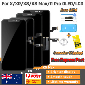 iPhone X XR XS MAX 11 Pro LCD OLED Screen Replacement Touch Digitizer Display