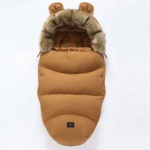 Baby Sleeping Bag bed sleeping bag for stroller thick Warm Wheelch Footmuffs