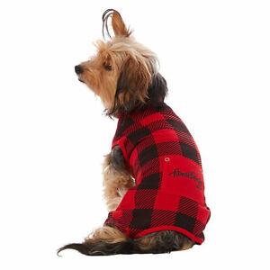 Top Paw® Buffalo Check Pet Pajamas Size Large