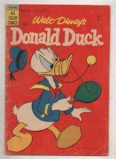 WALT DISNEY COMIC 'DONALD DUCK'  D 9  V   FINE     1957
