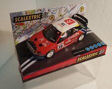 qq 6122 SCALEXTRIC CITROEN XSARA WRC RALLY MONTECARLO '03 #19 CARLOS SAINZ