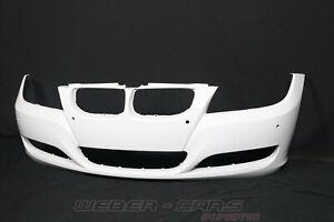 7204247 New Org BMW 3er E90 E91 Facelift Pdc Bumper Front Spoiler White