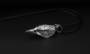 Men's Fashion Necklace Accessories Eagle Head Modeling Pendant