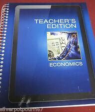 NEW Pearson Economics Teacher's Edition