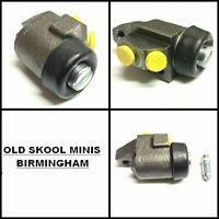 CLASSIC MINI FRONT WHEEL CYLINDER R/H PAIR GWC126 TWIN LEADING SHOE O/S 5C3