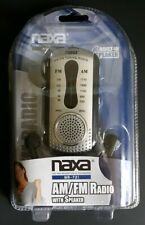 BRAND NEW NAXA Electronics NR-721 BK Portable Home Audio Radio,
