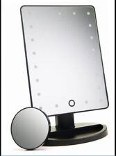 21 LED specchio illuminato Trucco-Vanità Specchio con touch screen attenuazione-staccabile