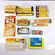 11 Matchbox, Aurora, Revell, Impy, Mini Lindy, Lone Star, Charbens Empty Boxes