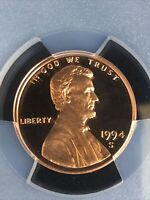 1994s Lincoln Memorial Cent PCGS Certified PR69RD DCAM