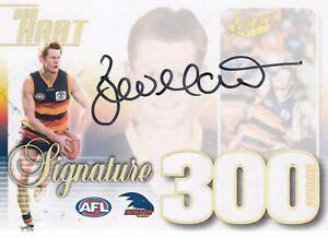 2019 AFL FOOTY STARS BEN HART 300 GAME SIGNATURE CASE CARD