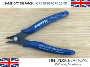 PLATO Model 170 Flush Wire Shears Cutters Snips Trimmers Soldering Electronics