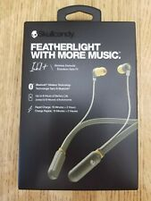 Skullcandy Ink'd + In-Ear Bluetooth Wireless Headphones Headset w/Mic Green