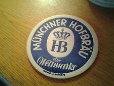 sottobicchiere beer mats birra hb munchner hofbrau