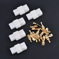 6.3mm2pin automotive electrical wire connector male female cable terminal plu Gy