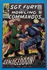 1966 SGT. FURY and his Howling Commandos comic #29 (1966 issue), very nice