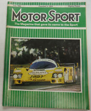 Motor Sport Magazine Canadian Grand Prix & Mercedes Benz July 1984 051615R