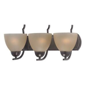Kingston 3 Light Vanity In Oil Rubbed Bronze