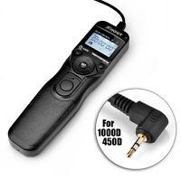 PRO RS-60E3 Timer Remote Shutter Release MC-C1 For Canon EOS 650D 550D 60D 600D