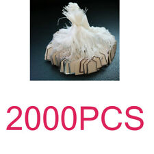 2000PCS Retail Tied String Labels Jewelry Display Watch Clothing Price Tags
