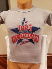 VINTAGE Minnesota Twins Youth Lg Grey 1985 All Star Game T-Shirt, NEW OLD STOCK!