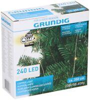 Lichter Saison 240 LED 350cm 230V IP20 Warmweiß Grundig