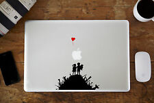 "Banksy Boy & Girl on a Hill Decal for Apple MacBook Air/Pro 11"" 12"" 13"" 15"""
